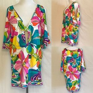 NWOT swim cover-up by Trina Turk. Size Small.
